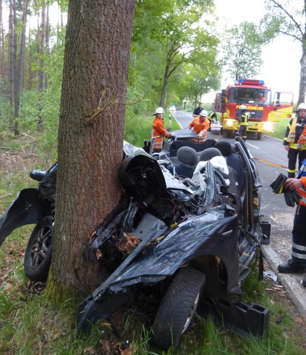 Tödlicher Verkehrsunfall Gestern