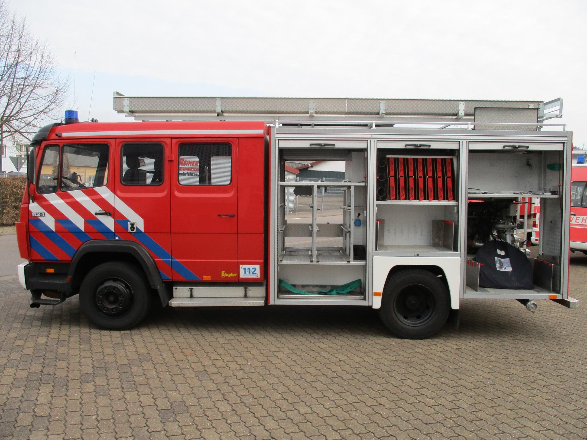 preis: 14.995 € lf 8/6 7,49t mercedes-benz 1124 1.500l wassertank